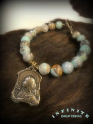 Agate Blessed Mother