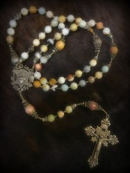 Amazonite Rosary - Christie