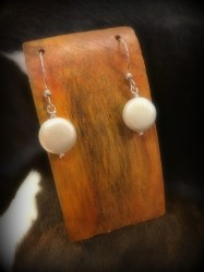 Coin Pearl Earrings