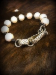 Full Pearl with Sterling Links